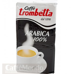Kawa mielona Trombetta Arabica 100% 250g